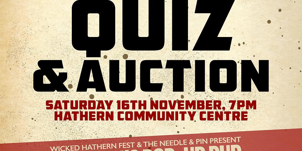 The Big Quiz & Auction!