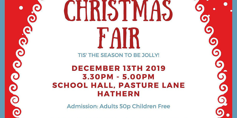Hathern Primary School Christmas Fair