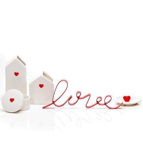 Vaso Lovely Heart P