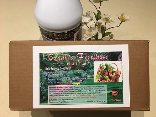 All Natural Fish Organic Fertilizer: Solid