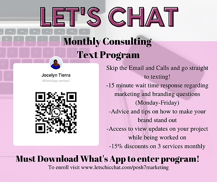 Monthly Text Consulting