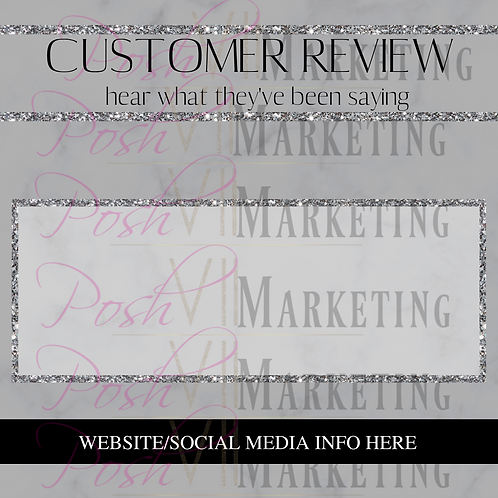 Pre-made Customer Review