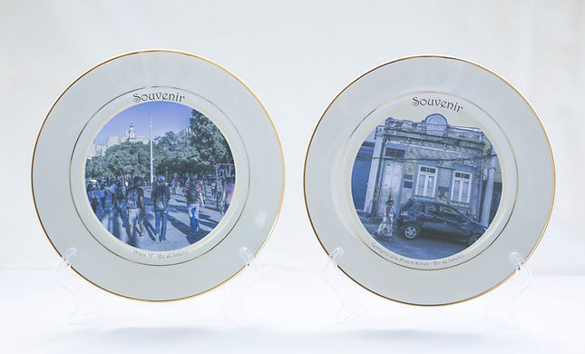 Shinji Nagabe - pratos souvenir