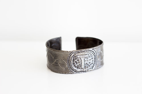 Monogrammed Cuff Bracelets