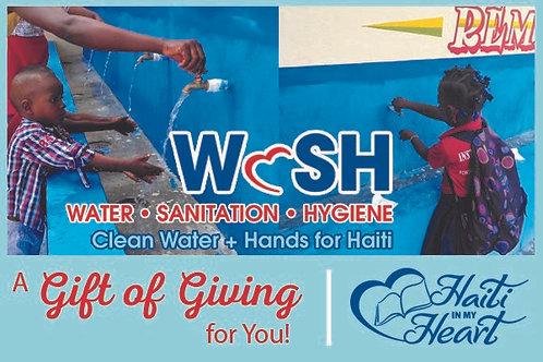Donation Gift Card - WaSH