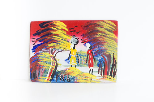 Handpainted Haitian Art - Small