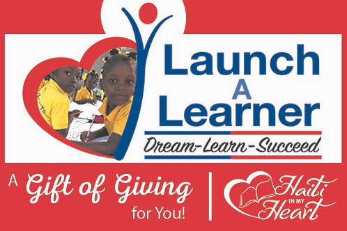 Donation Gift Card - Launch A Learner