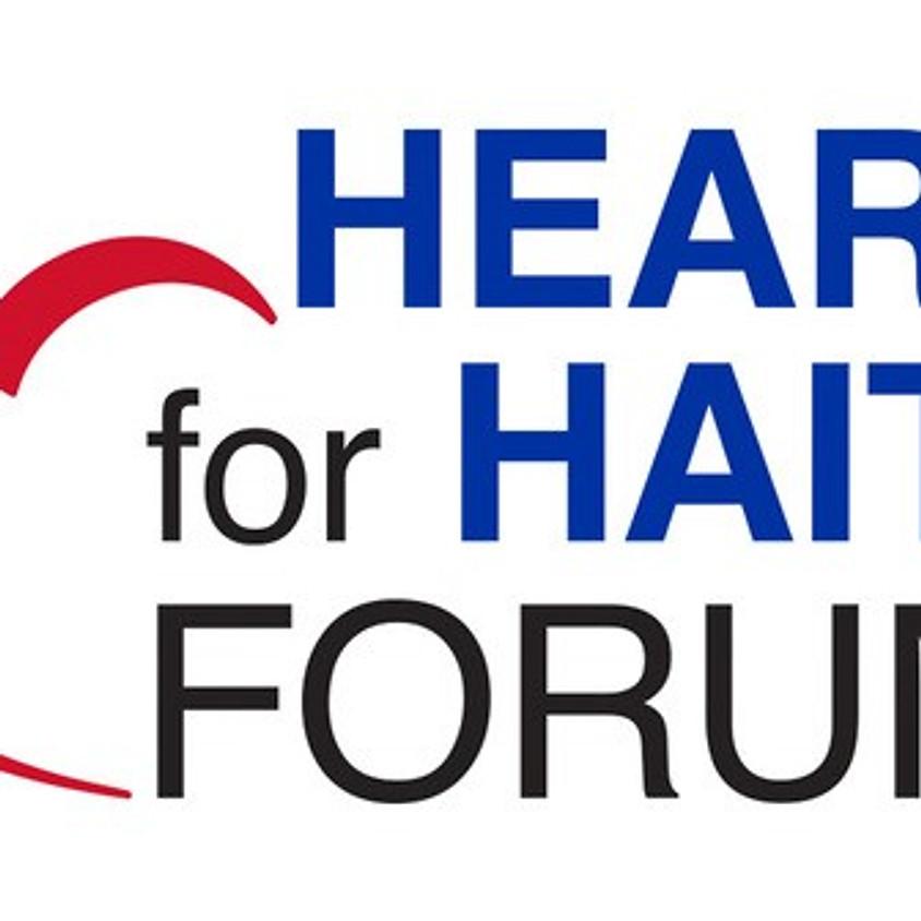 Heart for Haiti Forum - St. Thomas Ontario