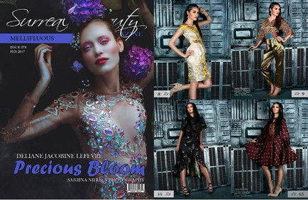 TIGERS EYE CLOTHING in Surreal Beauty Magazine Issue 378 FEB 2017