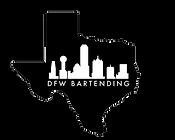 DFW Bartending in TEXAS logo transparent