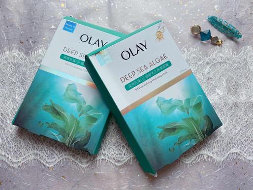 必試超保濕OLAY全新韓國製「隱形海藻面膜」,解救乾性毛孔肌膚