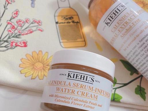 (娜娜試用) 肌膚水潤﹒柔滑﹒紓緩,Kiehl's 全新輕盈無重「金盞花修復精華面霜」