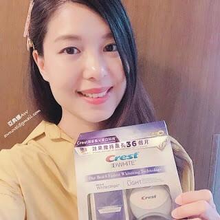 (娜娜試用) 推薦「入屋」的美白牙貼連藍光器,Crest 美國Whitening Toothpaste 銷售額冠軍品牌