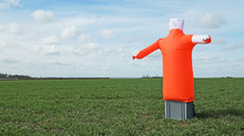 Inflatable Bird Scarers for Farmers & Commercial Buildings.