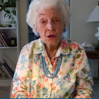 102-Year-Old Announced AZ Delegate Votes for Hillary Clinton's Nomination