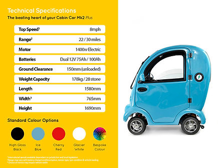 5 Tech Specs_Cabin car mk2 plus_Sheffiel