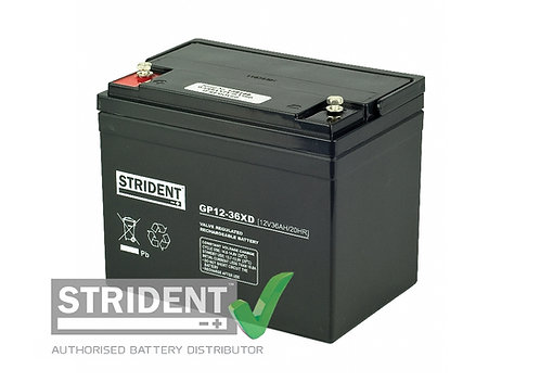 12volt 36ah AGM Mobility Battery