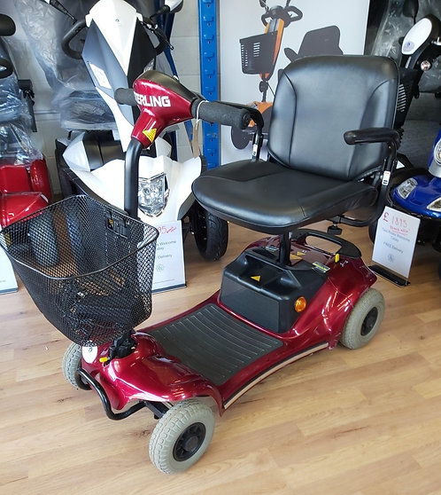 Pre-Owned Sterling Pearl Portable Mobility Scooter