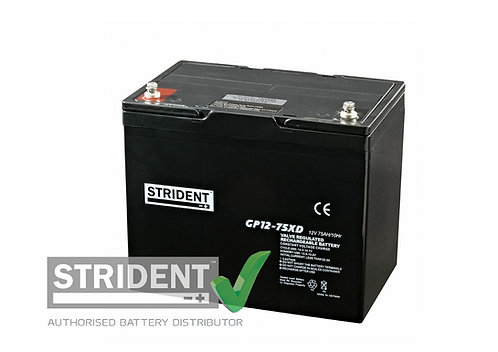 12volt 75ah AGM Mobility Battery