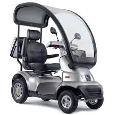 Ex Demonstration TGA Breeze S4 8mph Mobility Scooter