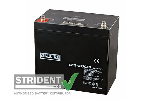 12volt 55ah AGM Mobility Battery