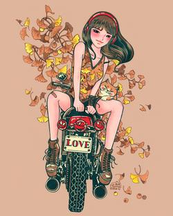 Boyfriend's Bike
