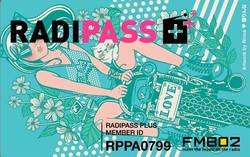 Radipass Plus Member Card