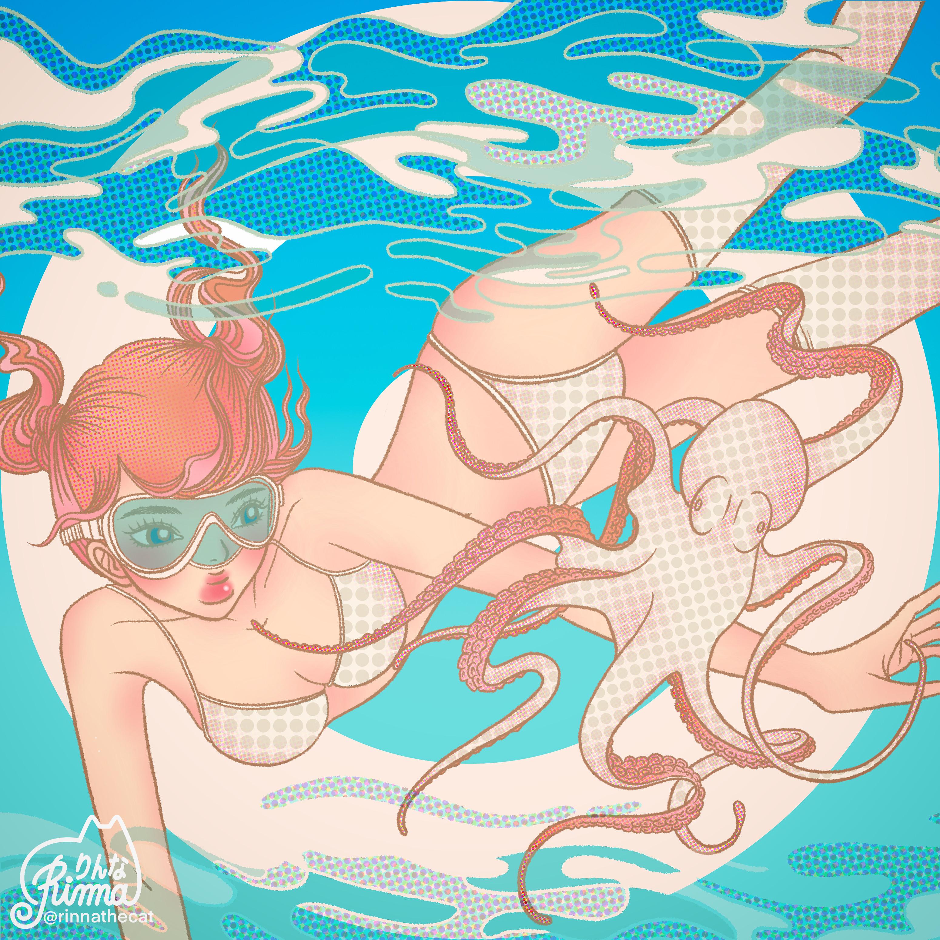 Takoyaki Girl