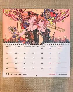 FM802 Calendar 2019