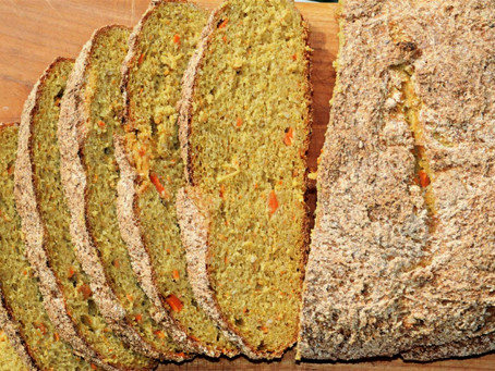 Hirse-Karotten-Brot