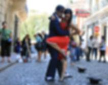 аргентинское танго открытый урок
