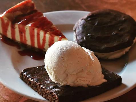Don't forget dessert!