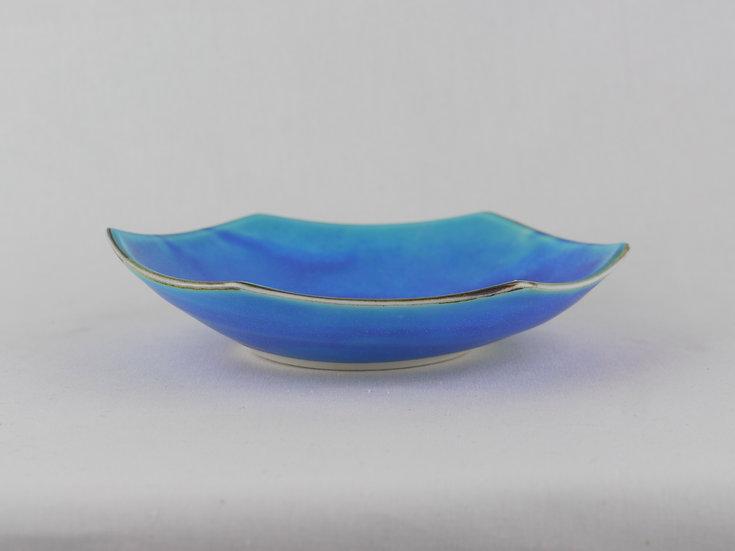 青磁六角鉢(小)・ラマンチャブルー Ceramic Hexagon Mini Bowl / Blue