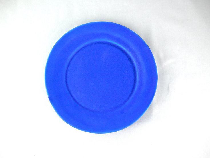 ラマンチャブルー平皿(中)