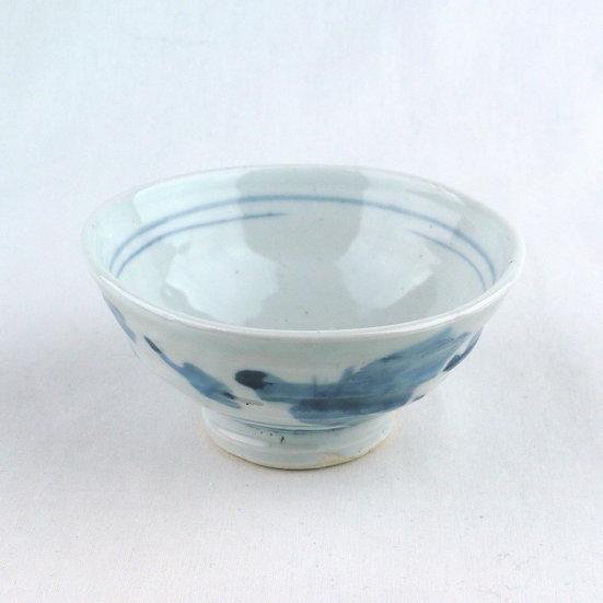 12b 白磁飯碗