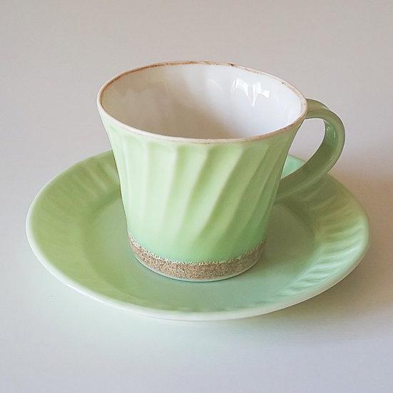 01 鎬コーヒーC/S ライトグリーン