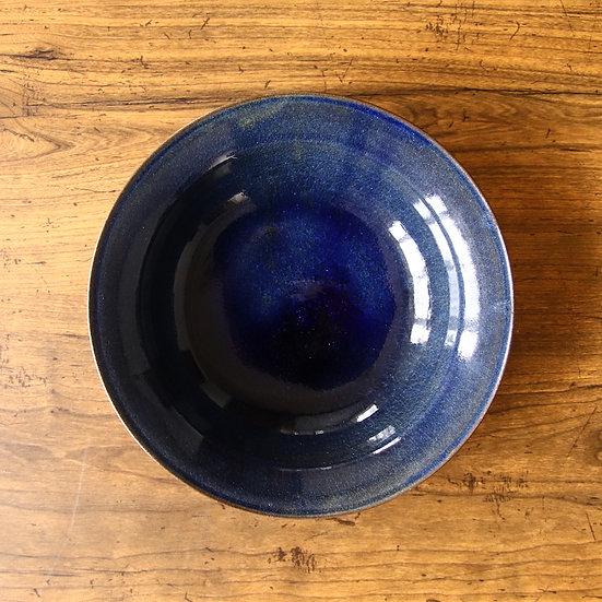 25 7寸浅鉢(ビワコブルー)