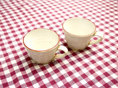 展示会 恵波さんのカップ