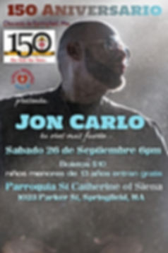 Jon Carlo 2020 - Made with PosterMyWall