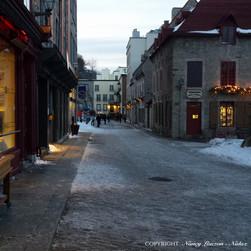 Vieux Québec, Qc.