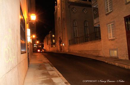 Rue Richelieu la Nuit