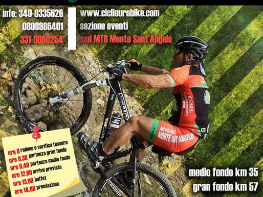Iron Bike, work in progress per la Marathon del Bosco Quarto a Monte Sant'Angelo