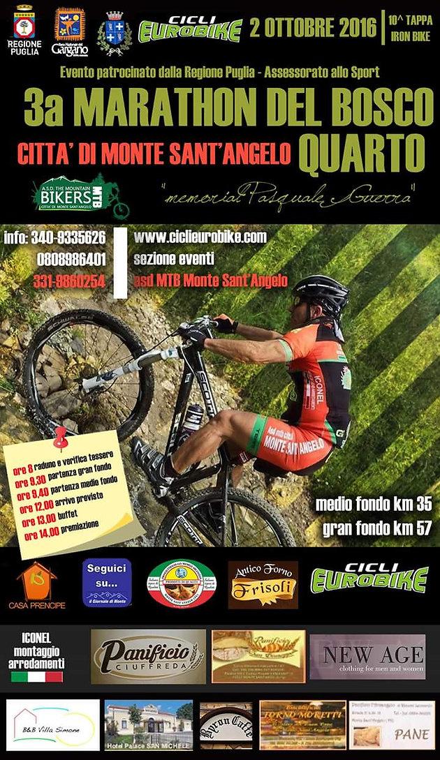 Quarto Di Monte.Iron Bike Work In Progress Per La Marathon Del Bosco Quarto