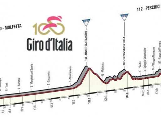 Il Giro d'Italia numero 100 tornerà sul Gargano