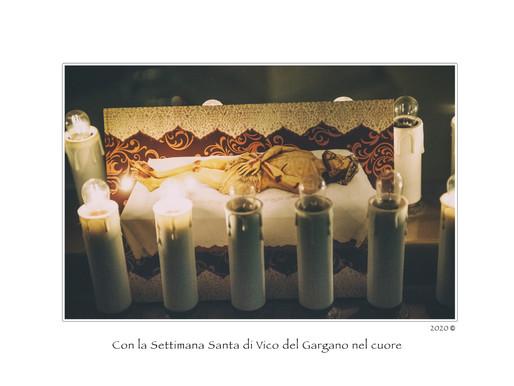 Con la Settimana Santa di Vico del Gargano nel cuore