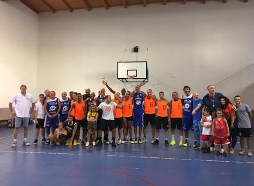 Nazionale italiana maxibasket over 45 di scena a Peschici