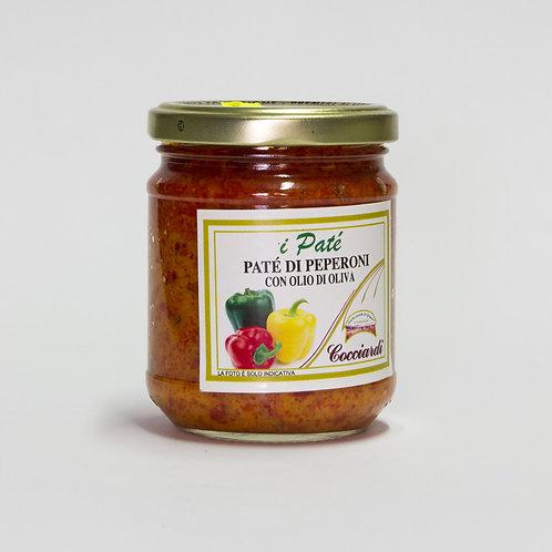 Patè di Peperoni con Olio di Oliva