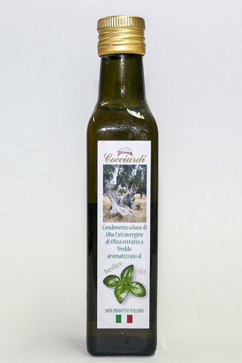 Olio di oliva Aromatizzato al Basilico