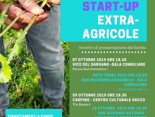 Start-up extra-agricole