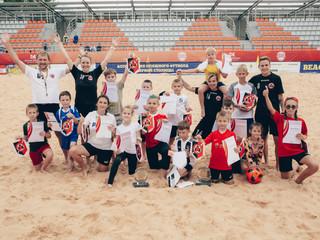 Мастер-класс #заnovaспорт по пляжному футболу